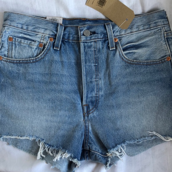 0512973660 Levi's Shorts | Nwt Levis 501 High Rise | Poshmark